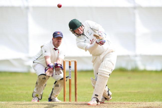 Gareth Wilkinson of Tong Park Esholt, will look to add to his unbeaten 99 he scored against Hall Park in the reverse fixture in May when the two sides face off tomorrow