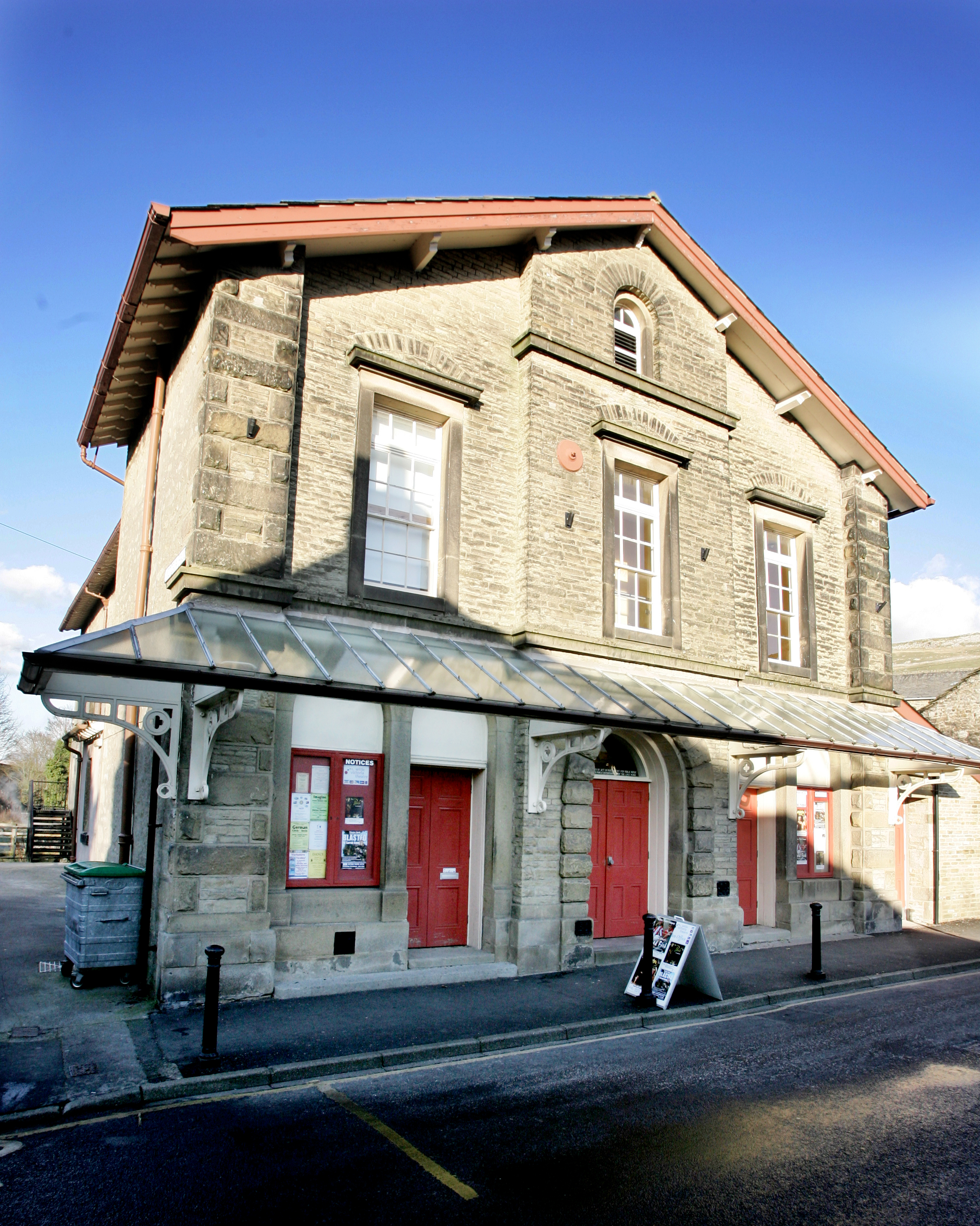 One of the sessions will be at the Victoria Hall, Settle