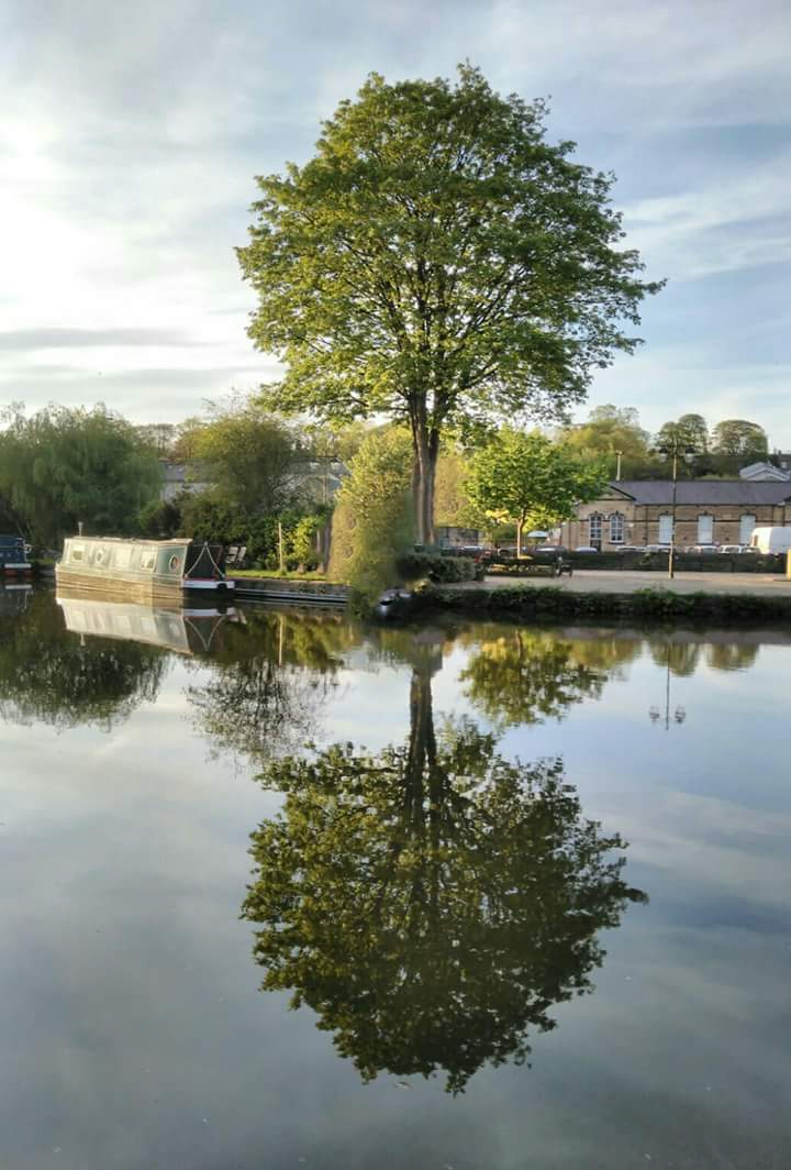 Near the Skipton canal basin by Spencer Ross