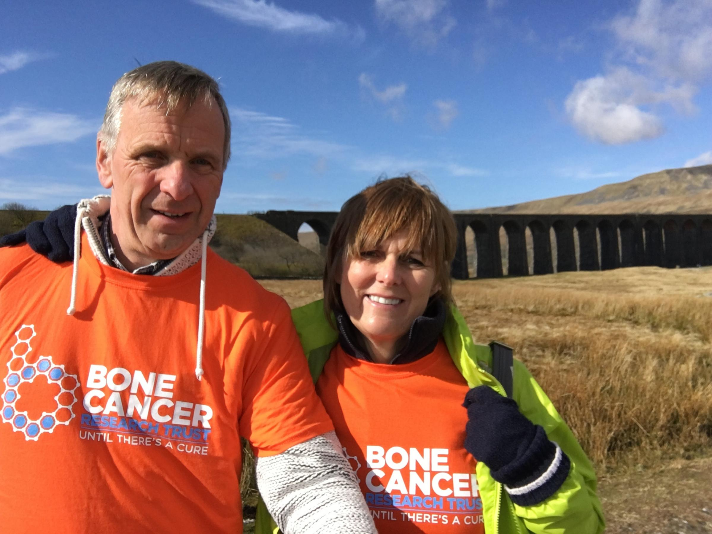 Janet and Steve Barker to climb the Three Pears in memory of their daughter Emily