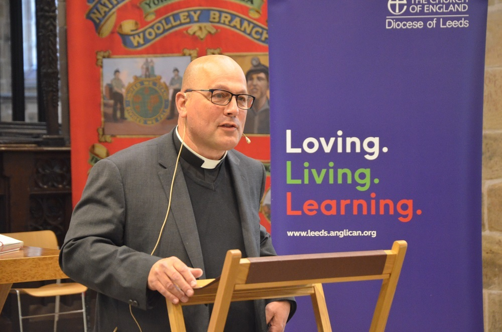 Rev Canon Simon Cowling, picture by the Church of England Diocese of Leeds