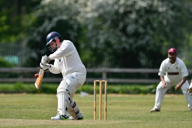 Sam Solley scored 45 for Sutton in their heavy defeat at Haworth Road Meths Picture: Andy Garbutt