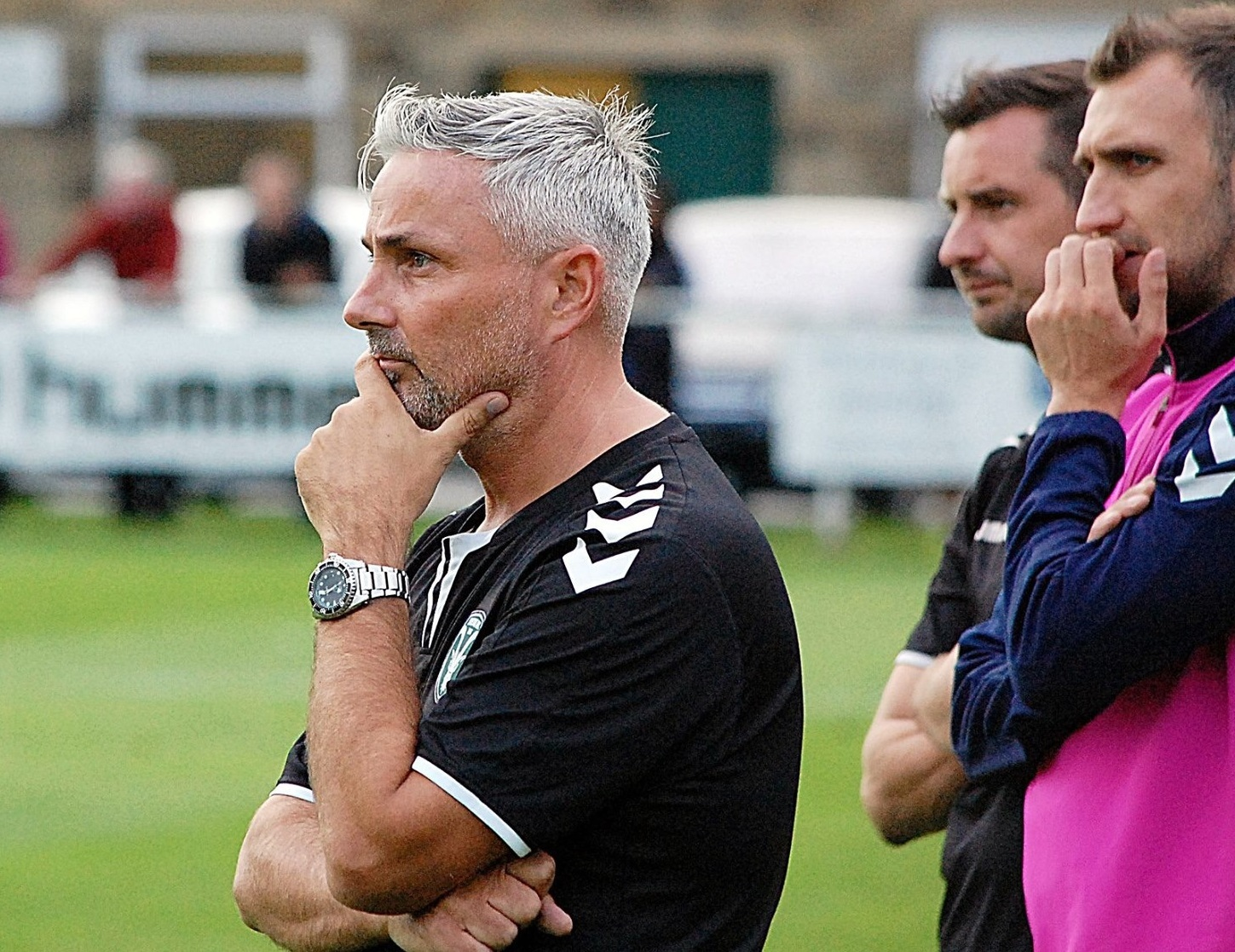 Steeton manager Roy Mason is delighted with the club's promotion