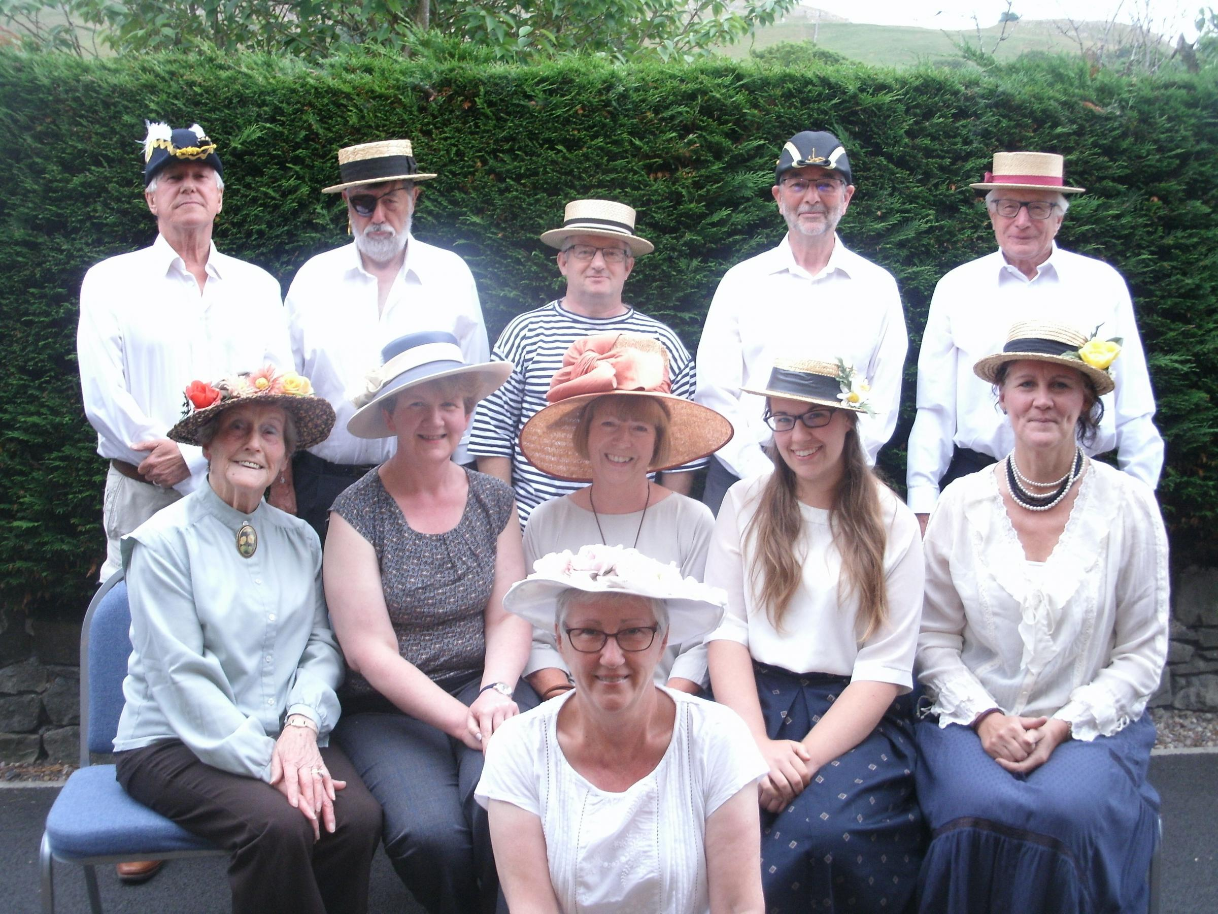 Langcliffe Singers performed HMS Pinafore at the Victoria Hall in Settle