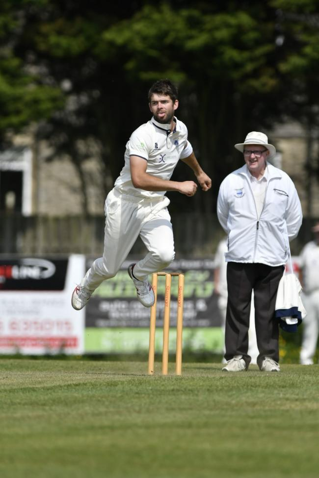 Cowling's Josh Gill took 8-39 as his side thrashed a hapless Sandy Lane outfit