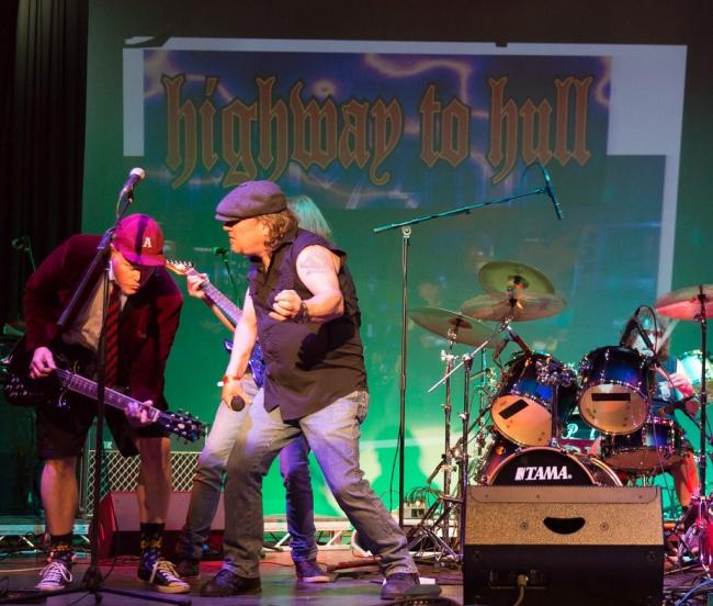 AC/DC tribute Highway to Hull will perform at the Bingley Arts Centre