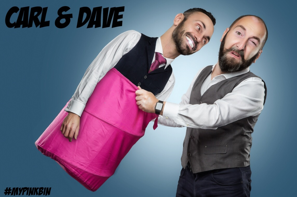 Carl and Dave will perform a magic show in Glusburn