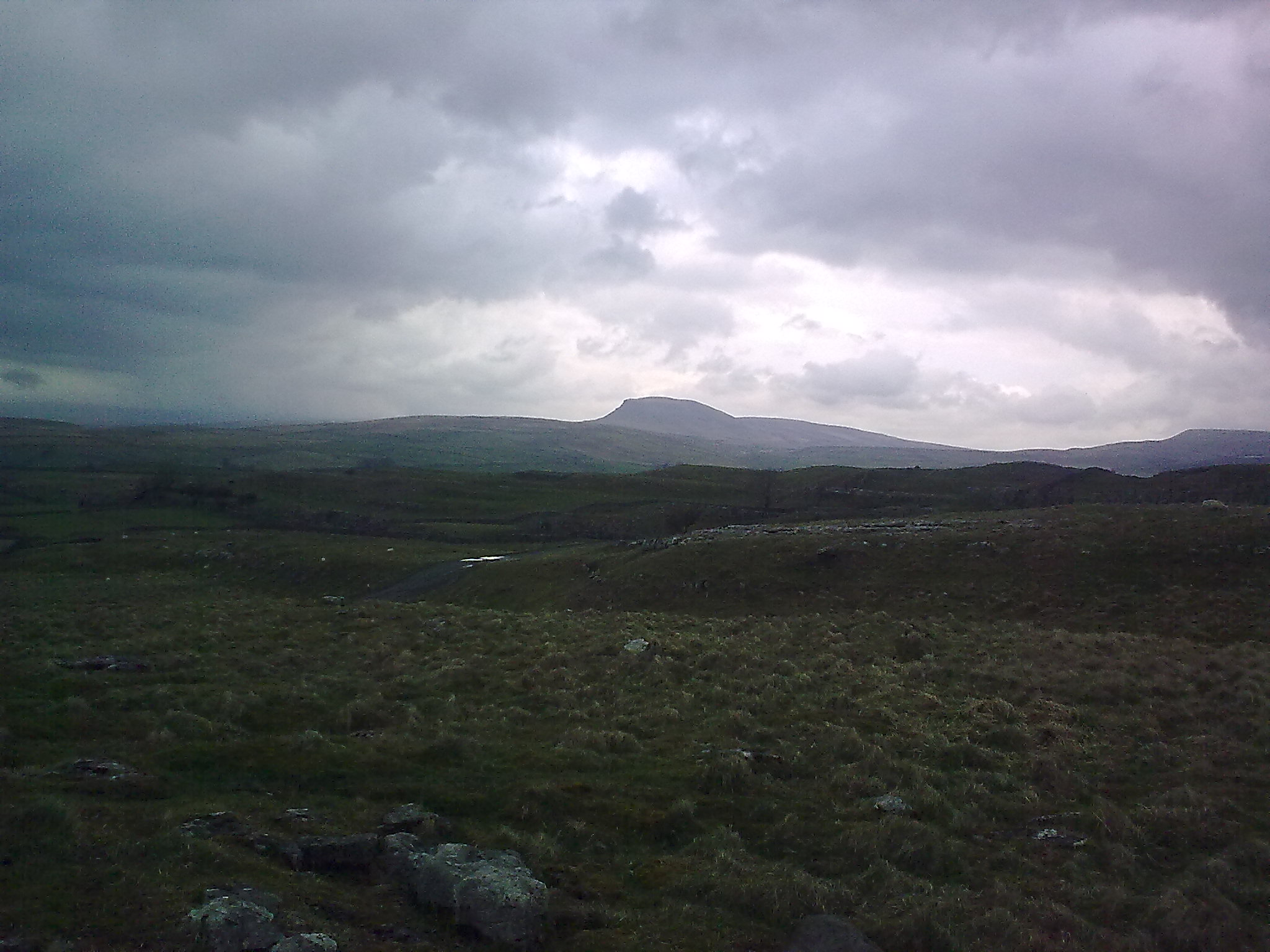 Pen-y-ghent, one of the Yorkshire Three Peaks