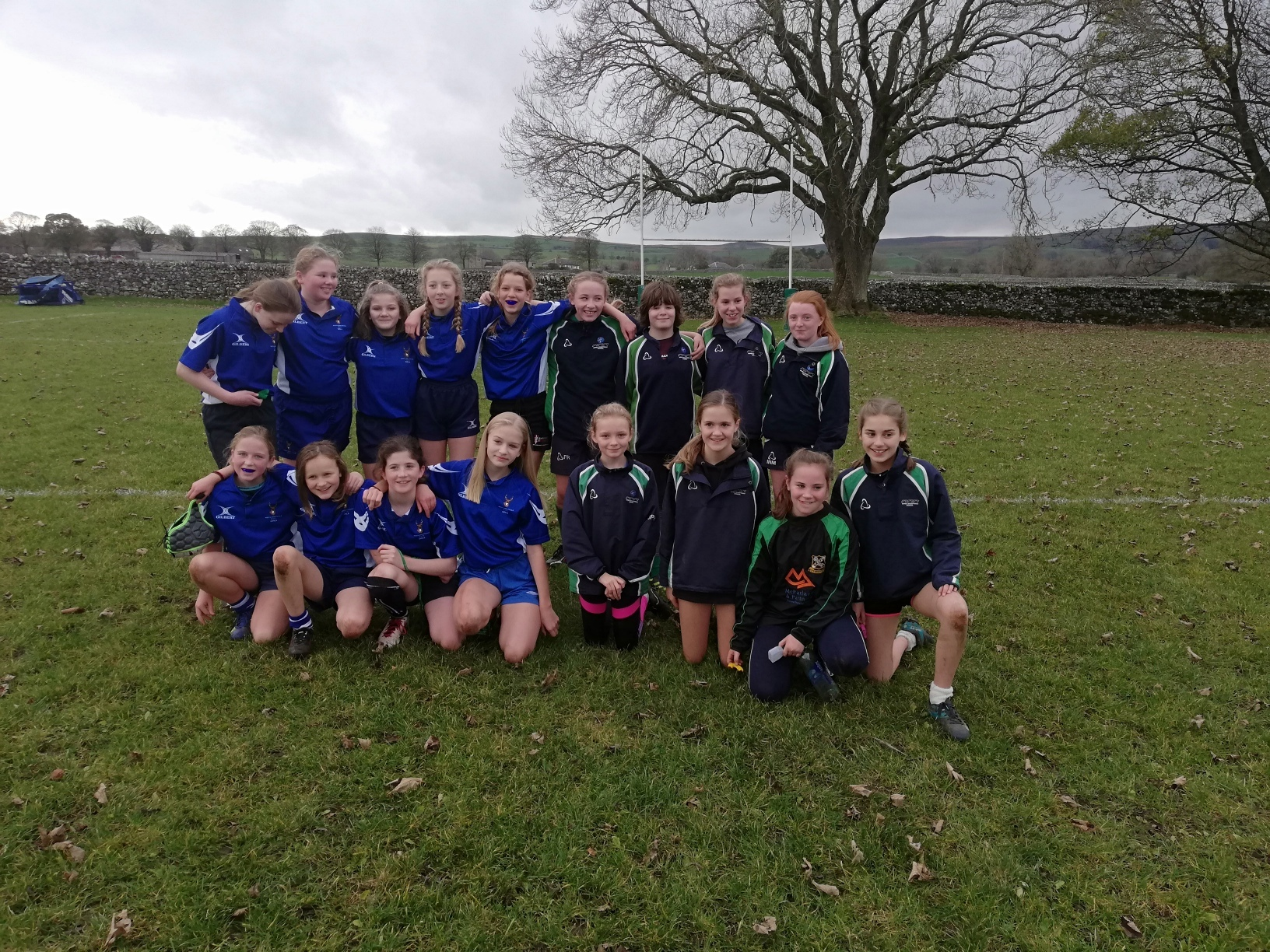 Wharfedale's under-13 team played North Ribblesdale