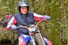 Cowling trial biker Nathan Wrigglesworth finished second at the Bob Owen Memorial Trial