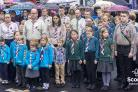 Ingleton Scouts take part in Remembrance Sunday event
