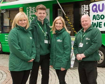 Macmillan's cancer support team