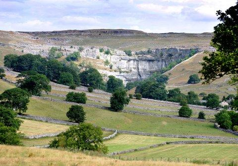 Malham Cove is among the landmarks on the list