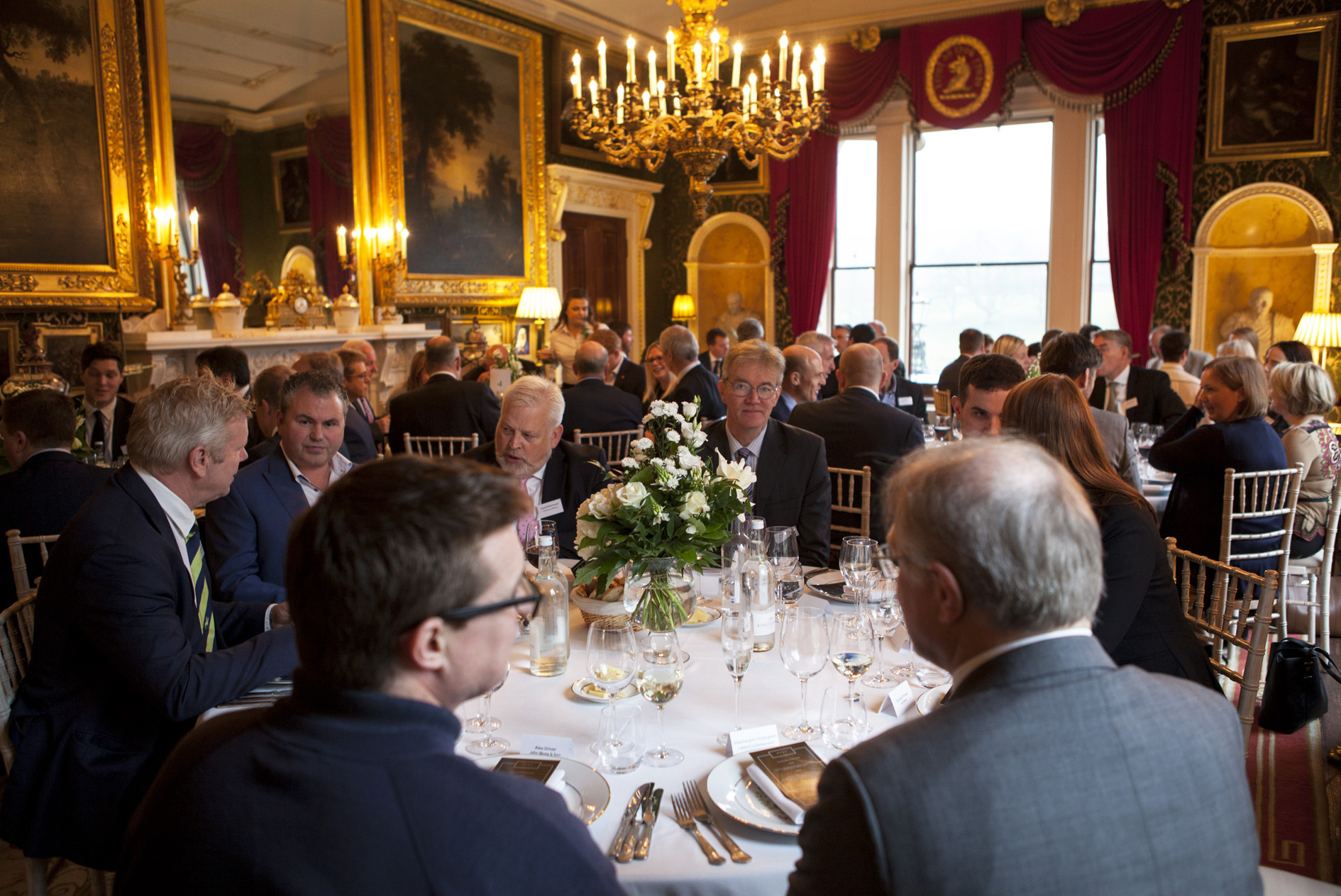 Broughton Hall Business lunch