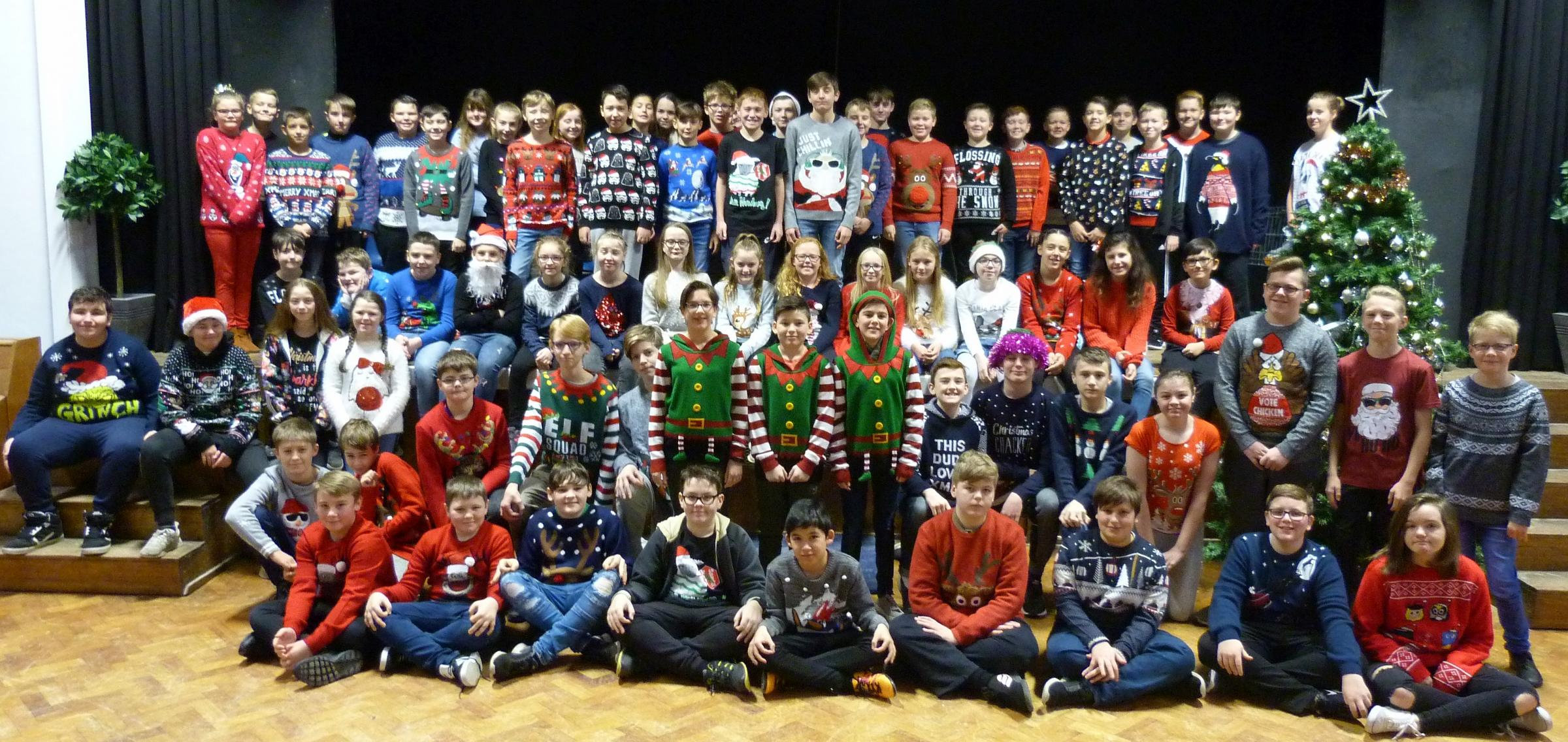 Trio of charities supported by West Craven students