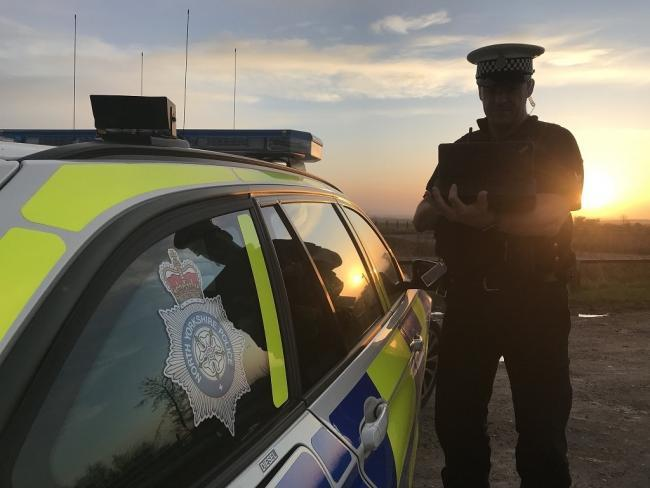 North Yorkshire Police took part in Operation Checkpoint