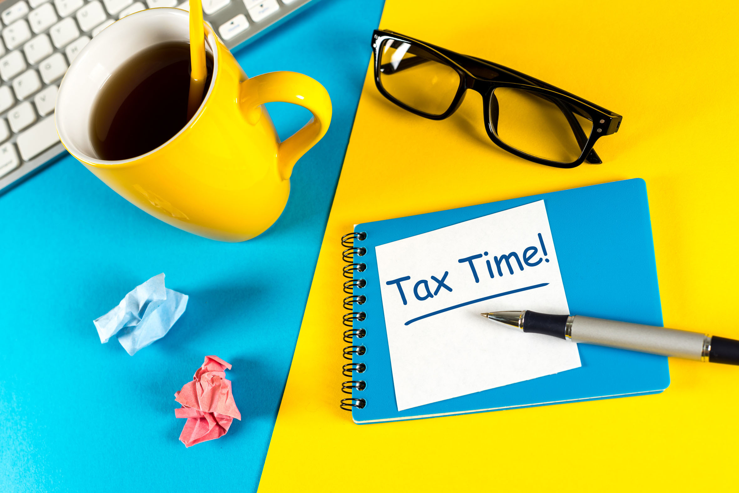 Get organised with your taxes!