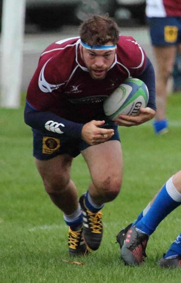 Matt Speres scored North Ribblesdale's only try. Picture: Amelia Bullock