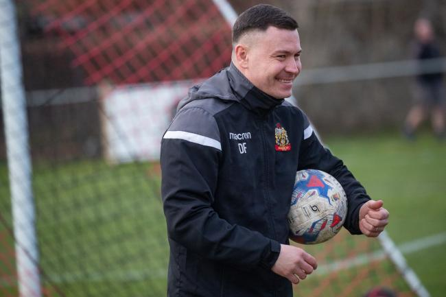 Silsden manager Danny Forrest will hope to be smiling again after his side take on Liversedge twice in eight days Picture: David Brett