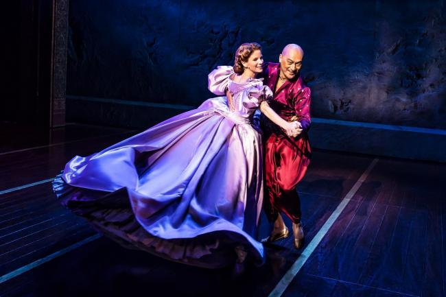 Kelli O' Hara and Ken Watanabe in The King and I