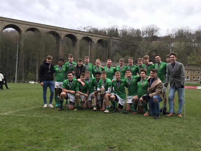 The Wharfedale Colts beat Huddersfield 32-13 to win the Yorkshire Cup