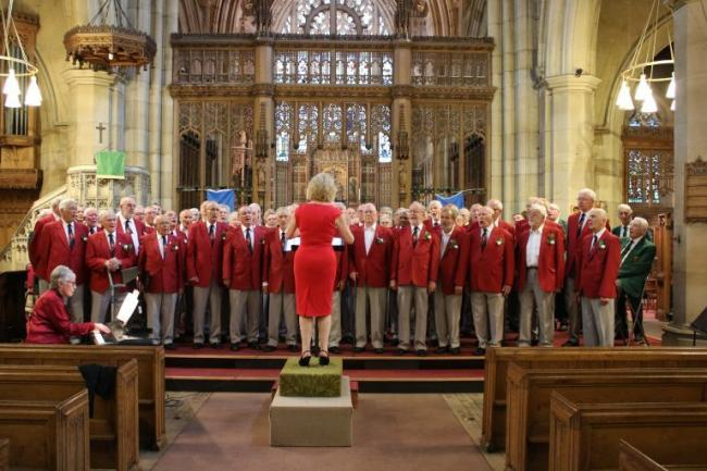 Steeton Male Voice Choir with Catherine Sweet