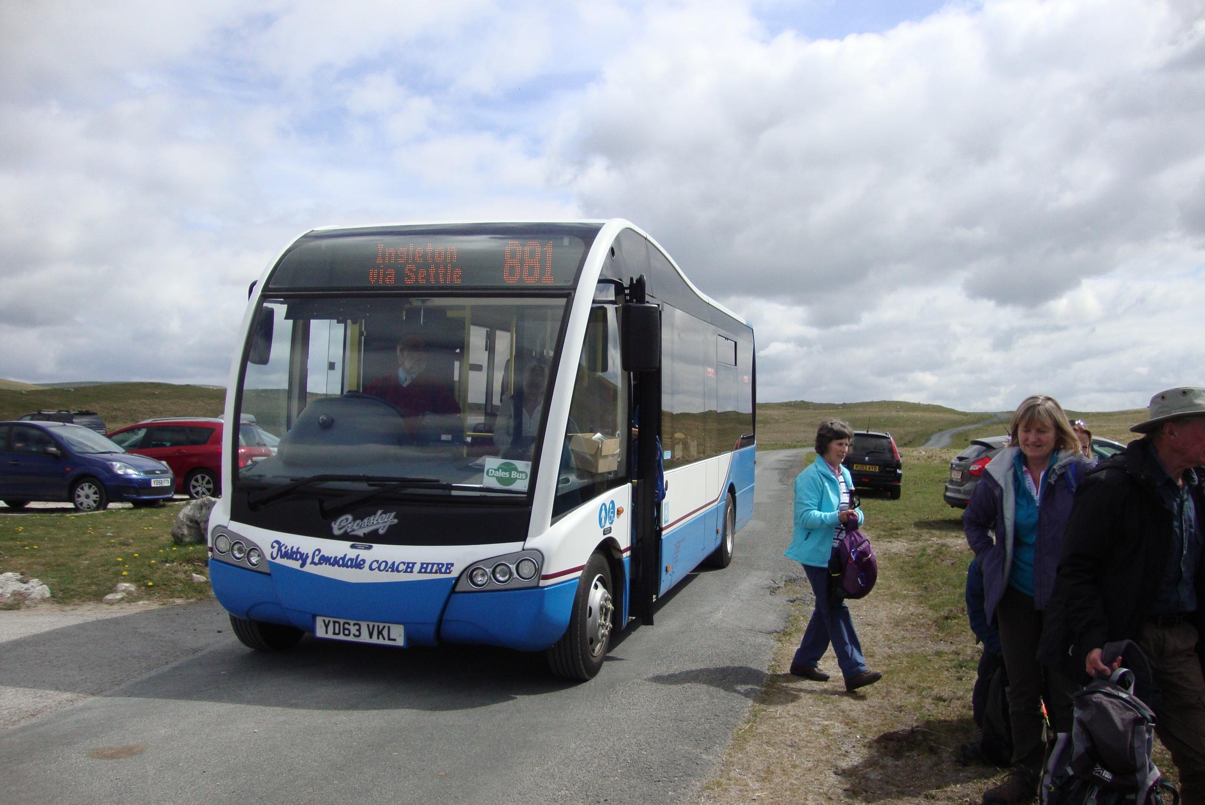 YORKSHIRE DALES NATIONAL PARK AUTHORITY: Charity's plea for bus funding rejected