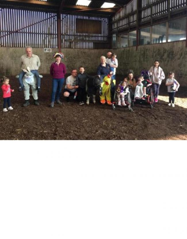 Pendle Riding for the Disabled Easter Egg Hunt