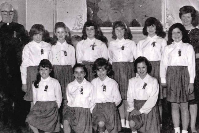 Skipton's St. Stephen's Church 'Irish Dancing Club' of the early 1960s