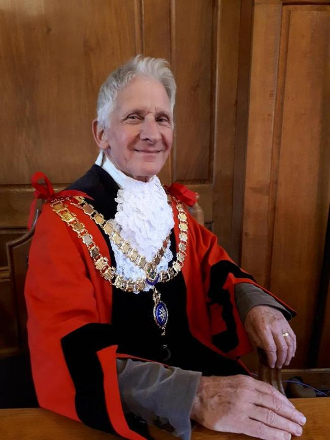 Skipton Mayor Alan Hickman, picture by Judy Probst
