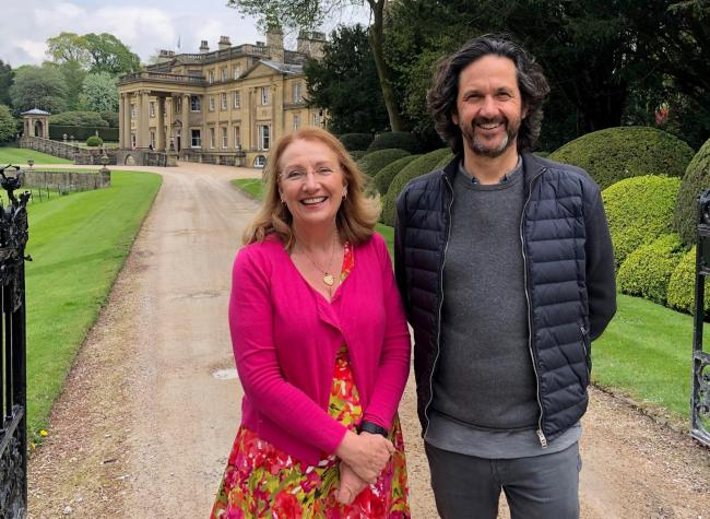 Gina Lazenby and Roger Tempest at Broughton Hall