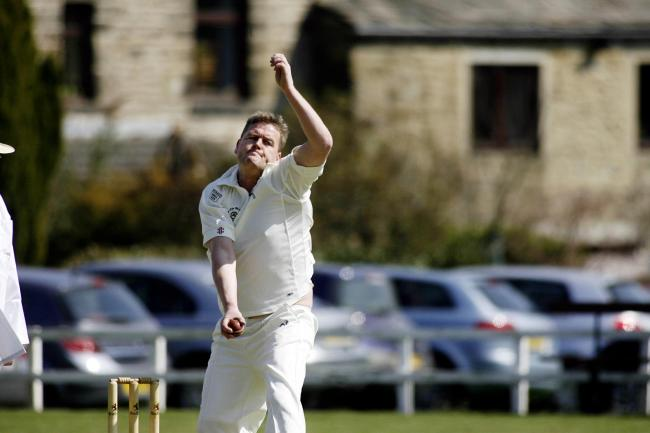 Damian Rowell's was in vain as Haworth crashed out of the Wynn Cup against Barrowford