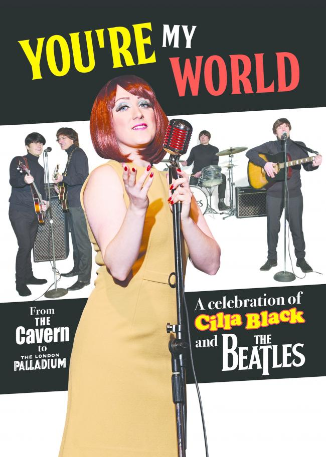 You're My World, coming to Settle Victoria Hall
