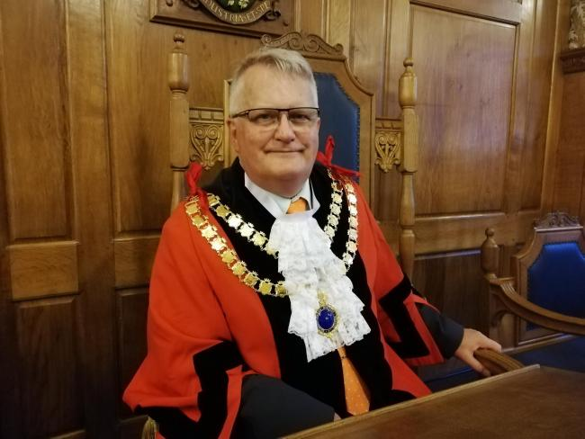 Cllr Peter Madeley, new Skipton Mayor