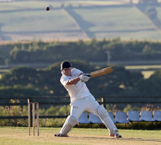 Jordan Powell smashed a quickfire half-century for Oakworth in their Wynn Cup victory