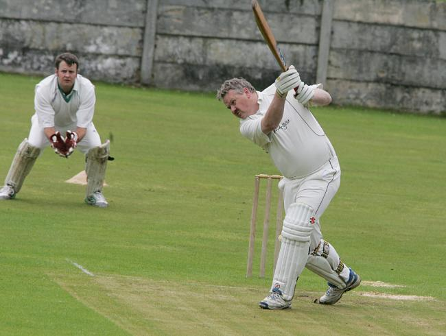 Thornton-in-Craven's Kev Pollard scored 50 in his side's victory over Oakworth