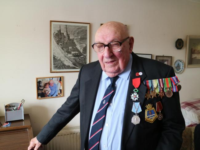 Skipton D-Day veteran Norman Robinson is to lay a wreath at the comemorative service at the war memorial today